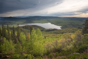 Lake Catamount, Yampa River, Pleasant Valley, Steamboat Springs, Colorado, Flat Tops Wilderness