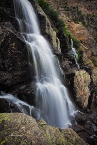 Timberline Falls, Rocky Mountain National Park, Colorado, waterfall, flowing water
