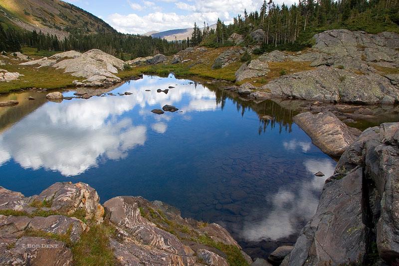 Missouri Lakes, Holy Cross Wilderness, Colorado, reflection, photo