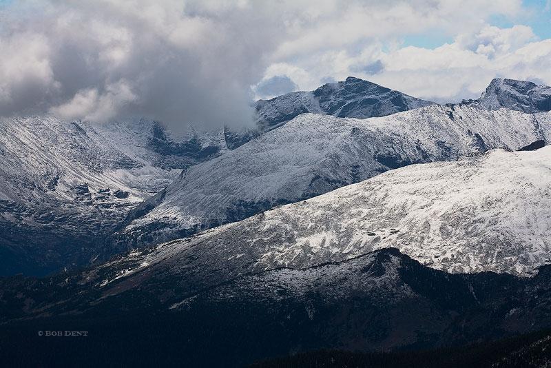 storm, clouds, Glacier Gorge, Rocky Mountain National Park, Colorado, photo