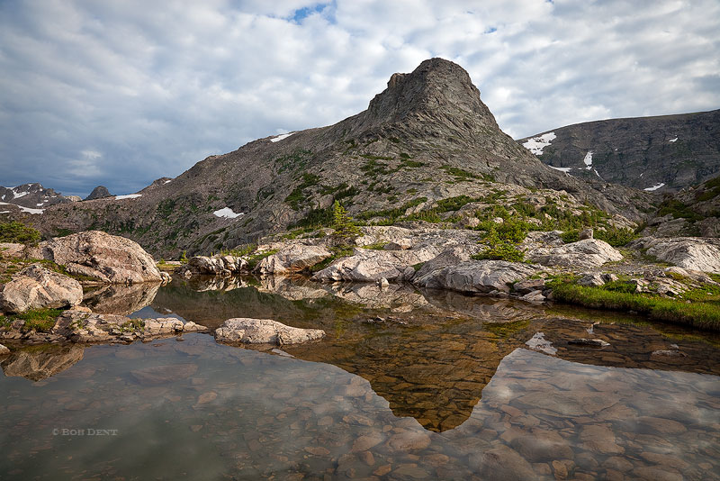Cooper Peak, Indian Peaks Wilderness, Colorado, sunrise, reflection, alpine, pools