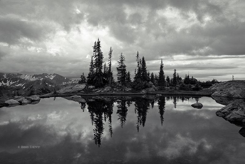 sunrise, reflection, Indian Peaks Wilderness, Colorado, alpine, pools