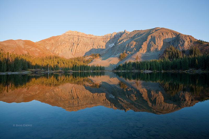 alta lakes, sunset, autumn, colorado