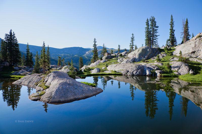 Rocky Mountain National Park,Colorado,alpine,ponds,reflection,morning