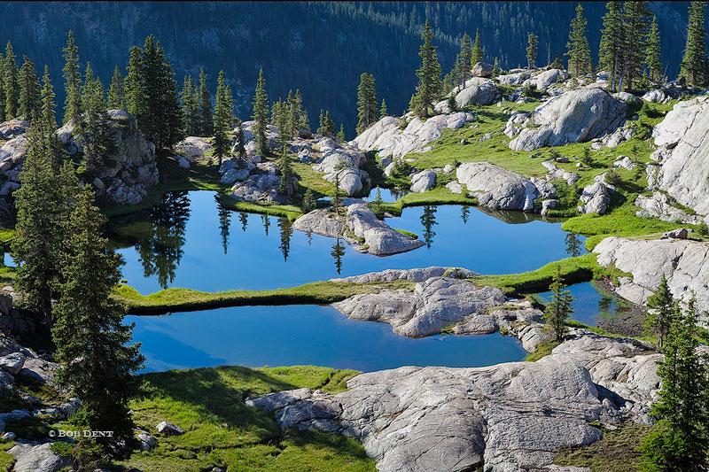 morning,alpine,ponds,Rocky Mountain National Park,Colorado, photo