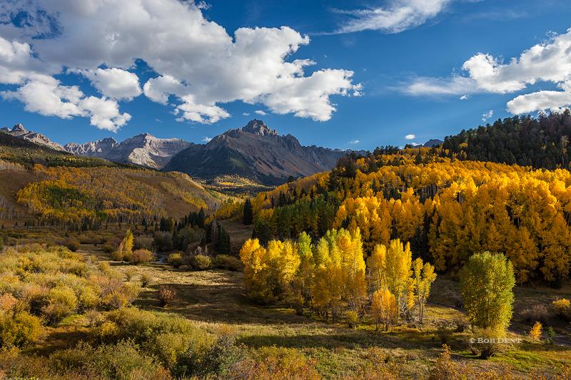 Mt. Sneffels, autumn, fall, San Juan Mountains, Colorado.