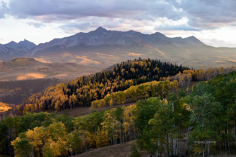 Wilson Peak, Wilson Mesa, Lizard Head, sunset,