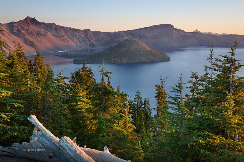 Sunrise, morning, Crater, Lake, Oregon